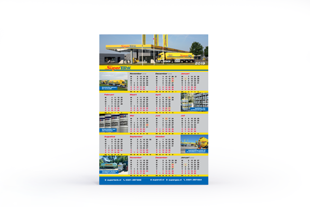 Download hier de SuperTank Kalender 2019
